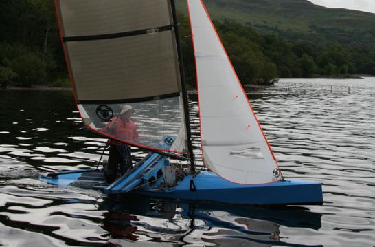 Milanes foils international canoe class